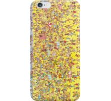 Where's Wally Iphone Case iPhone Case/Skin