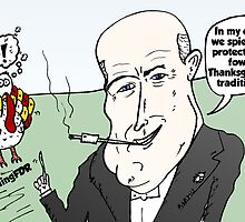 Balding FDR Thanksgiving webcomic by Binary-Options