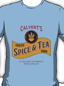 Calvert's Exotic Spice and Tea Shop T-Shirt