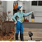 Lawn Jockey by Keala