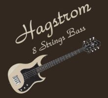 Hagstrom Bass 8 Strings decoration Clothing & Stickers by goodmusic