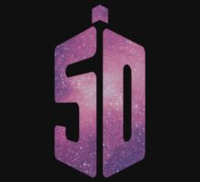 Doctor Who 50th Anniversary Space Logo Creation by Kazurian