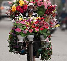 Flowers on wheels by magnetik