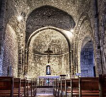 Le Castellet Medieval Church by Marc Garrido Clotet