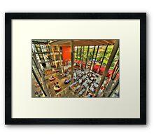 University of Lincoln HDR Framed Print