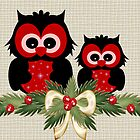 Owls December by LoneAngel