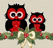 Owls December by LoneAngel
