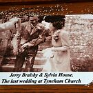 The Last Wedding At St Marys Church,Tyneham,Dorset UK by lynn carter