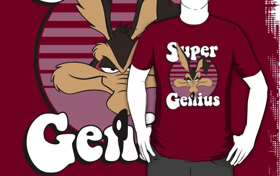 Wile E Coyote Super Genius by rbrayzer