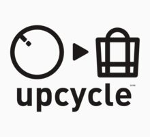upcycle bicycle tube / black by glbrt