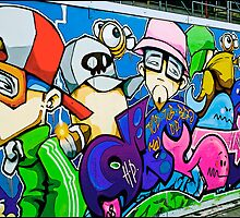 My crew by Cheo, Bristol 2009 by Tim Constable