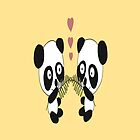 Panda Love by Cassy Wykes