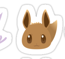 Eevee Evolutions Sticker