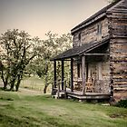 Homestead at Dusk by Heather Applegate