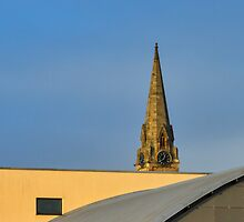 Elgin's architecture contrast at College. by JASPERIMAGE