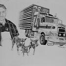 Truckies life by Penny Edwardes