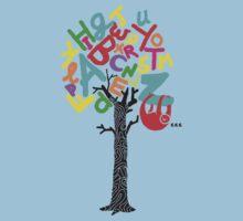 Sleep All Day (Alphabet tree) Kids Clothes