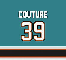 San Jose Sharks - Logan Couture #39 by Mat Younatan