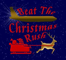 Christmas Rush by Vy Solomatenko