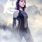 Catching Fire Johanna Mason by forbiddenforest