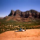 Immersed in Sedona by Charmiene Maxwell-batten