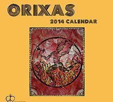 Orixas 2014 Calendar by Ginga & Helen Dos Santos