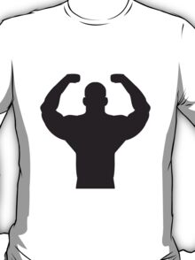 Bodybuilder Posing T-Shirt