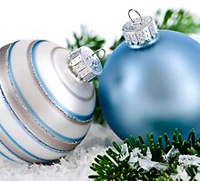 Christmas ornaments by Elena Elisseeva