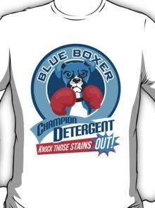 Blue Boxer Champion Detergent Retro T-shirt- original art T-Shirt