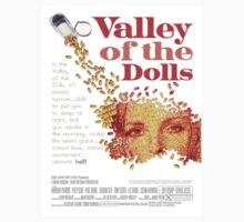 """Valley of the Dolls"" Vintage Movie Art Featuring Sharon Tate by TrueLoveTees"