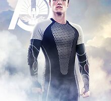 Catching Fire Peeta Mellark by forbiddenforest