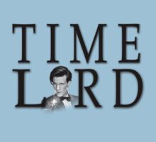 Matt Smith Time Lord by drwhobubble