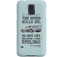 Paul Walker Tribute GTR - Halftone Samsung Galaxy Case/Skin