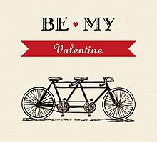 Tandem Bicycle - Be My Valentine by RumourHasIt