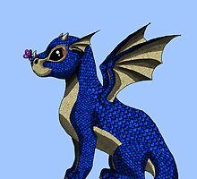 Sapphire the Baby Dragon by Becky Pike
