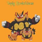 Tepig evolutions by jonath1991