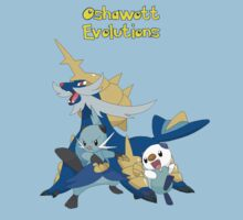 Oshawott evolutions by jonath1991