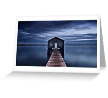 'The Boatshed' Greeting Card