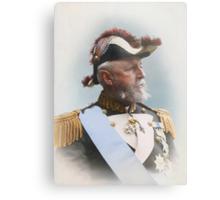 Oscar II, king of Sweden and Norway — ca 1880 Metal Print