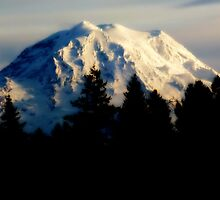 rainier glows~ by Brandi Burdick