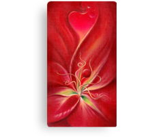 THE LILY - Invitation to the Inside Canvas Print