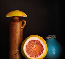grapefruit still life by shottop