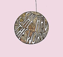She Had The World (iPhone) by ClaudiaMelton