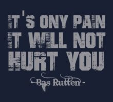 Bas Rutten MMA quotes by logo-tshirt