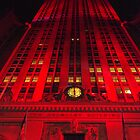 Holiday Lights, Helmsley Building, New York City  by lenspiro