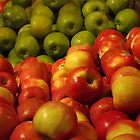 Colorful Apples, Whole Foods, Columbus Circle, New York City by lenspiro