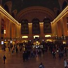 Grand Central Terminal at Night, New York City by lenspiro
