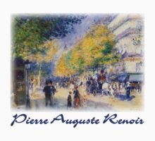 Pierre-Auguste Renoir  - Boulevards of Paris by William Martin