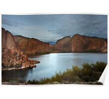 Apache Trail Canyon Lake Poster