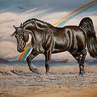 The Black Stallion by WildestArt